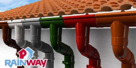 Пластиковые водосточные системы с 25% скидкой